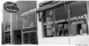 old bill smith plumbing store front