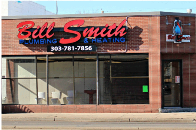 after bill smith plumbing sign